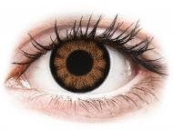 Barvne kontaktne leče z dioptrijo - ColourVUE BigEyes Sexy Brown - z dioptrijo (2 leči)