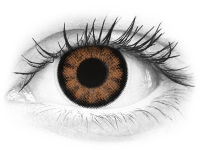 ColourVUE BigEyes Sexy Brown - z dioptrijo (2 leči)