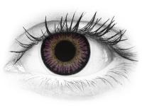 ColourVUE 3 Tones Violet - brez dioptrije (2 leči)