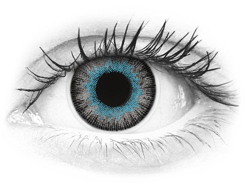 ColourVUE Fusion Blue Gray - z dioptrijo (2 leči) - ColourVUE Fusion Blue Gray - z dioptrijo (2 leči)