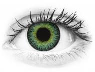 ColourVUE Fusion Green Yellow - z dioptrijo (2 leči)