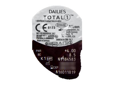 Dailies TOTAL1 (30leč) - Predogled blister embalaže