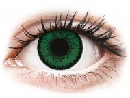Zelene kontaktne leče - z dioptrijo - SofLens Natural Colors Emerald - z dioptrijo (2 leči)