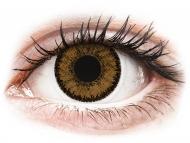 Rjave kontaktne leče - brez dioptrije - SofLens Natural Colors India - brez dioptrije (2 leči)