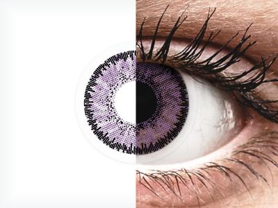 SofLens Natural Colors Indigo - brez dioptrije (2 leči)