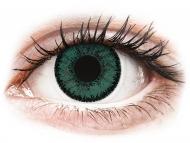 Zelene kontaktne leče - brez dioptrije - SofLens Natural Colors Jade - brez dioptrije (2 leči)