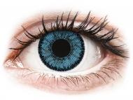 Modre kontaktne leče - brez dioptrije - SofLens Natural Colors Pacific - brez dioptrije (2 leči)