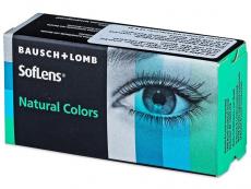 SofLens Natural Colors Topaz - brez dioptrije (2 leči)