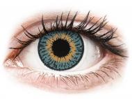 Modre kontaktne leče - brez dioptrije - Expressions Colors Blue - brez dioptrije (1 leča)