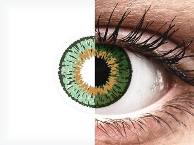 Expressions Colors Green - brez dioptrije (1 leča)