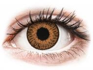 Rjave kontaktne leče - z dioptrijo - Expressions Colors Hazel - z dioptrijo (1 leča)