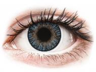 Modre kontaktne leče - brez dioptrije - FreshLook ColorBlends Blue - brez dioptrije (2 leči)