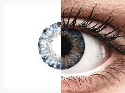 FreshLook ColorBlends Blue - brez dioptrije (2 leči)