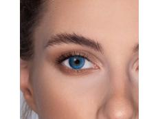 FreshLook ColorBlends Brilliant Blue - brez dioptrije (2 leči)