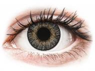 Sive kontaktne leče - brez dioptrije - FreshLook ColorBlends Grey - brez dioptrije (2 leči)