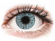 Barvne kontaktne leče z dioptrijo - FreshLook Colors Blue - z dioptrijo (2 leči)