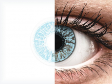 FreshLook Colors Blue - brez dioptrije (2 leči)