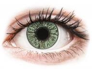 Zelene kontaktne leče - z dioptrijo - FreshLook Colors Green - z dioptrijo (2 leči)
