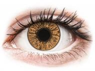 Rjave kontaktne leče - z dioptrijo - FreshLook Colors Hazel - z dioptrijo (2 leči)