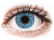 Barvne kontaktne leče z dioptrijo - FreshLook Colors Sapphire Blue - z dioptrijo (2 leči)
