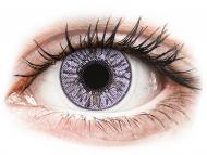 Vijolične kontaktne leče - brez dioptrije - FreshLook Colors Violet - brez dioptrije (2 leči)