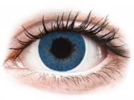 Modre kontaktne leče - brez dioptrije - FreshLook Dimensions Pacific Blue - brez dioptrije (2 leči)