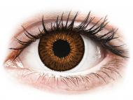 Rjave kontaktne leče - z dioptrijo - Expressions Colors Brown - z dioptrijo (1 leča)