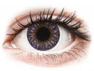 Vijolične kontaktne leče - brez dioptrije - TopVue Color - Violet - brez dioptrije (2 leči)