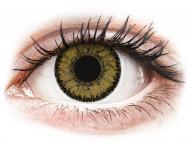 Rjave kontaktne leče - z dioptrijo - SofLens Natural Colors Dark Hazel - z dioptrijo (2 leči)