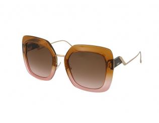 Sončna očala Oversize - Fendi FF 0317/S DQ2/M2
