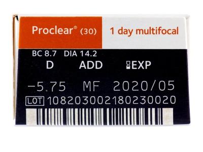 Proclear 1 Day multifocal (30leč)