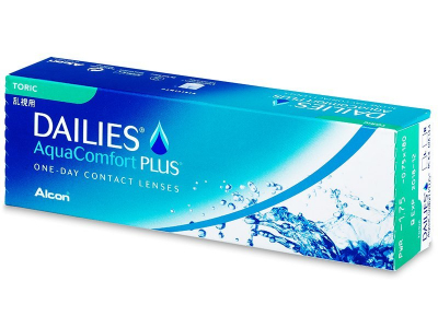 Dailies AquaComfort Plus Toric (30 leč)