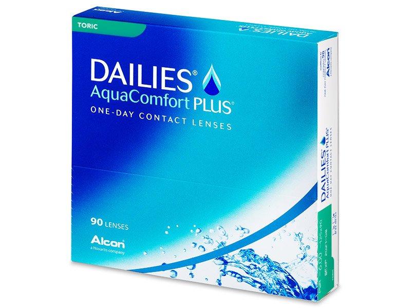 Dailies AquaComfort Plus Toric (90leč) - Torične kontaktne leče