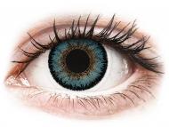 Barvne kontaktne leče - ColourVUE 3 Tones Aqua - brez dioptrije (2 leči)