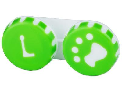 Škatlica Paw green