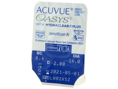 Predogled blister embalaže - Acuvue Oasys (12leč)