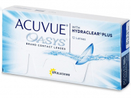 kontaktne leče Johnson and Johnson - Acuvue Oasys (12 leč)