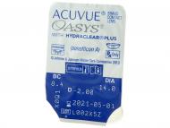Acuvue Oasys (24 leč) - Predogled blister embalaže
