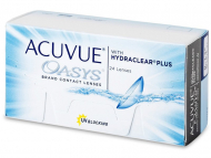 kontaktne leče Johnson and Johnson - Acuvue Oasys (24 leč)