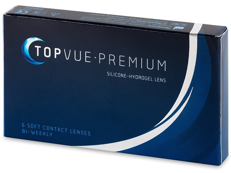 TopVue Premium (6 leč) - 14 dnevne kontaktne leče