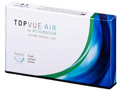 TopVue Air for Astigmatism (3 leče)  - Torične kontaktne leče