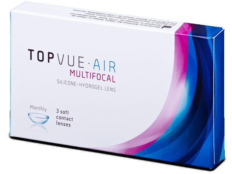 TopVue Air Multifocal (3 leče) - Multifokalne kontaktne leče