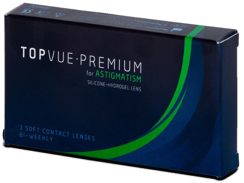 TopVue Premium for Astigmatism (3leče) - Torične kontaktne leče