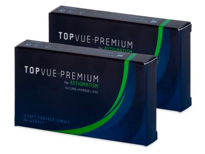 TopVue Premium for Astigmatism (6 leč) - Torične kontaktne leče