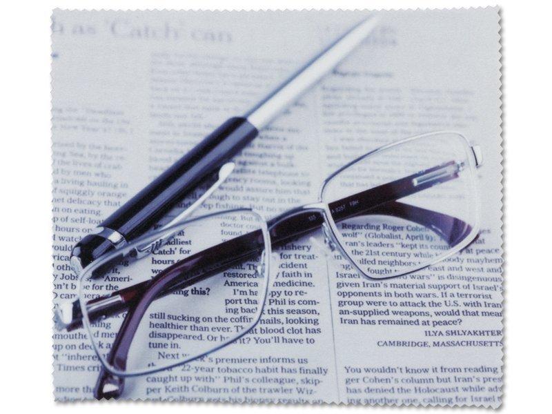 Čistilna krpica za očala - Časopis