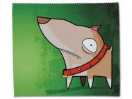 Dodatki - Čistilna krpica za očala - Pes