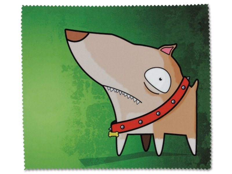Čistilna krpica za očala - Pes