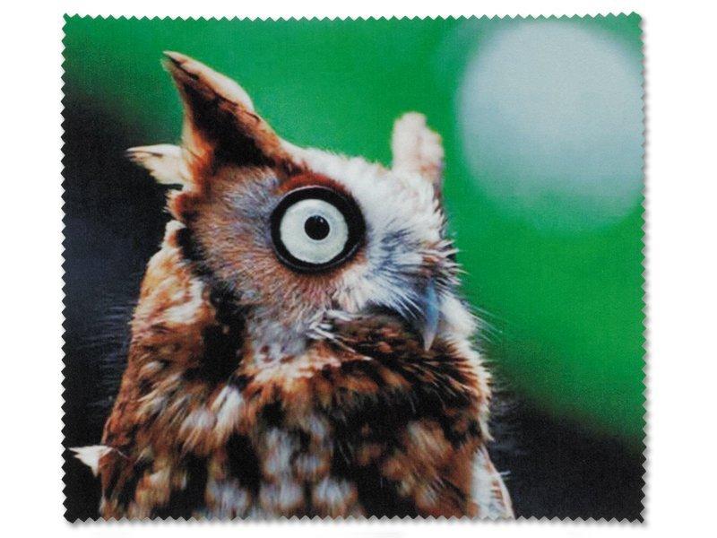 Čistilna krpica za očala - Sova
