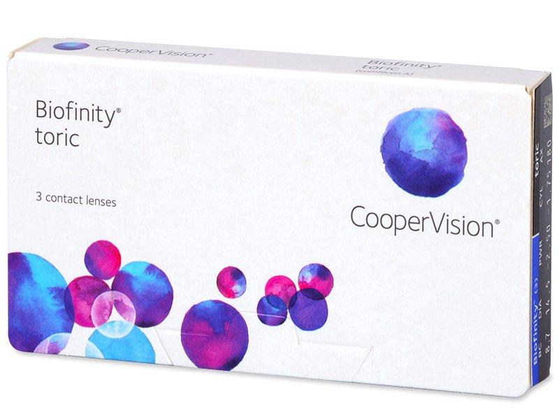 Torične kontaktne leče - Biofinity Toric (3 leče)