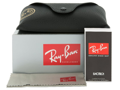 Ray-Ban JUSTIN RB4165 - 622/6Q  - Preivew pack (illustration photo)